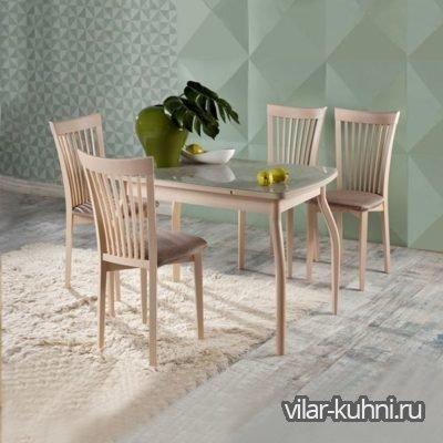 «Стол Сиэтл-ДГ + 4 стула Дана-2»
