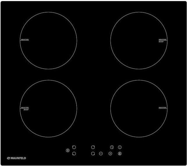 MAUNFELD EVI.594-BK, черное стекло