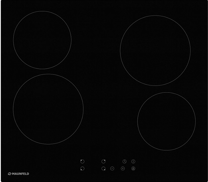 MAUNFELD EVCE.594-BK, черное стекло